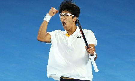 Internationaux d'Australie - Chung Hyeon