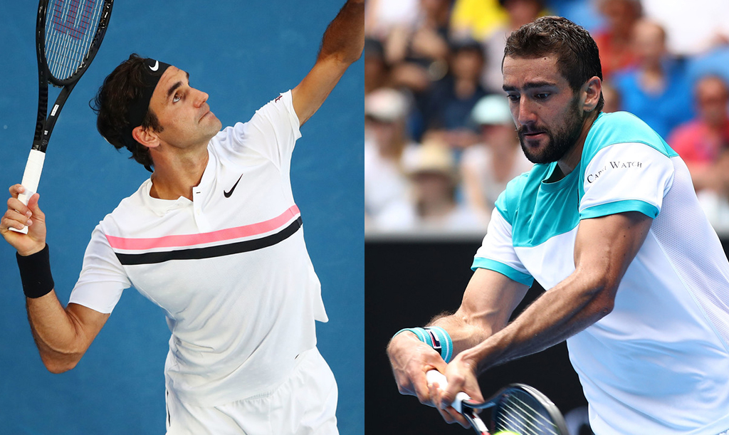 Finale de simple masculin: Federer vs Cilic