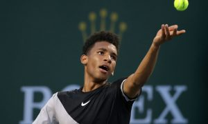 Félix Auger-Aliassime à Indian Wells